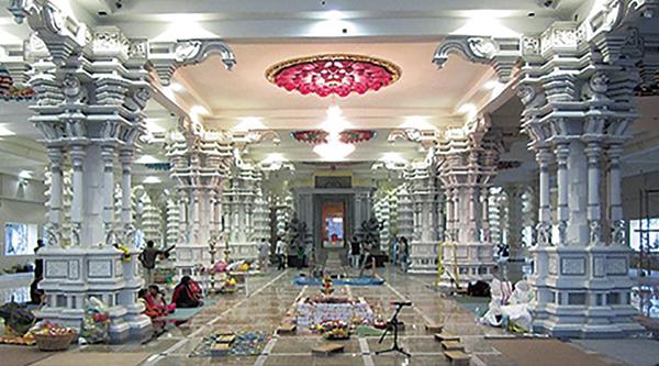 马来西亚寺庙照明