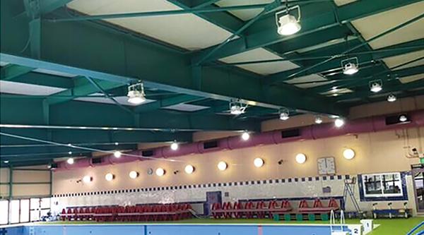 日本某高校体育馆